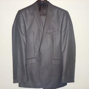 Kenneth Cole Sharkskin Suit (Worn once)